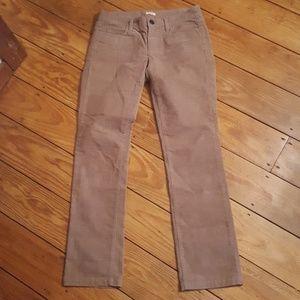 J crew matchstick courdoroy pants